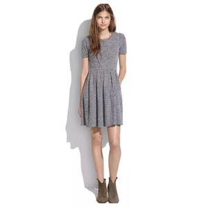 Madewell Gray Sweatshirt Dress Size Small